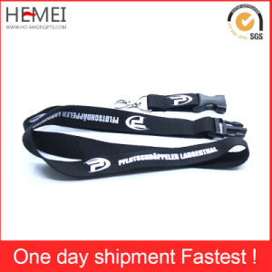High Quality Sublimation Lanyard with Safety Buckle pictures & photos