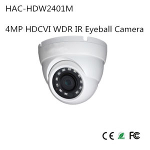 4MP Hdcvi WDR IR Eyeball Camera (HAC-HDW2401M) pictures & photos