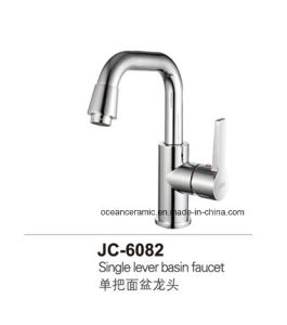 6082 Cold and Hot Water Tap, Washbasin Brass Faucet pictures & photos