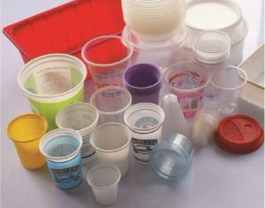 Plastic Cup Thermoforming Machine Price pictures & photos