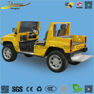 Electric Vehicle 4 Wheel Drive Hummer Golf Cart pictures & photos