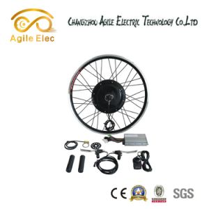 1000W E-Bike Black Gearless Hub Motor Kit with LCD Display pictures & photos
