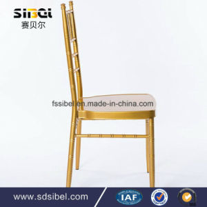 Aluminum Metal Resin Stacking Dining Chiavari Chair for Hotel Restaurant Banquet Wedding pictures & photos