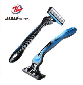 Home Shaving Triple Blade Razor, Disposable Razor, Hotel Supply pictures & photos
