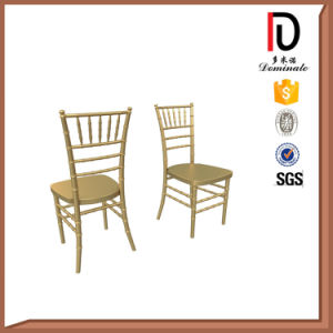 Gold Stacking Chiavari Tiffany Chair with Cushion (BR-C012) pictures & photos
