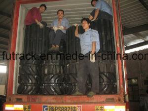 Excavator Tracks Rubber Tracks for Komatsu CD110r) 800*150ym pictures & photos
