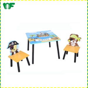 Kids Furniture Table with Two Chairs pictures & photos