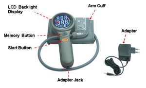 Upper Arm Auto Digital Blood Pressure Monitor Meter (LD-528) pictures & photos