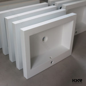 Corian Resin Stone Solid Surface Bathroom Sinks pictures & photos