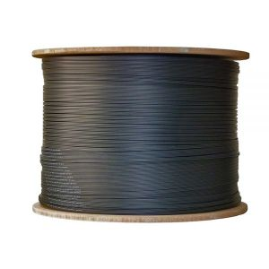 1 Core FTTH Indoor Flat Fiber Drop Cable with FRP Strengthen pictures & photos