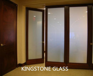 Decorative Frosted Glass-Acid Etched Glass (clear, ultra clear, colored, 3-19mm)