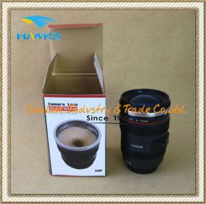 300ml Camera Lens Self Stirring Coffee Mug (Comlom) pictures & photos