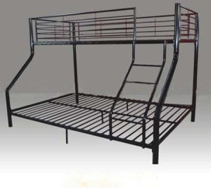 Metal Trio Bunk Bed pictures & photos