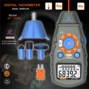Newest Digital Tachometer (DT-110PL) pictures & photos