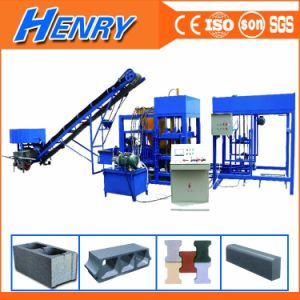 Qt4-20 Automatic Production Line Brick Machine, Road Construction Equipments Concrete Block Making Machine pictures & photos