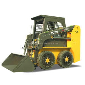 Skid Steer Loader with CE Similar Mini Bobcat with Perkins Engine pictures & photos