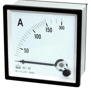 96 Moving Iron Instruments AC Ammeter