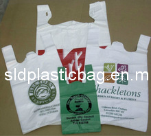 High Quality Shopping Plastic T-Shirt Bag pictures & photos
