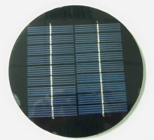 Round Solar Panel for Solar Lawn Light pictures & photos