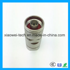 Male Wire Cable RF Coaxial BNC Connector pictures & photos