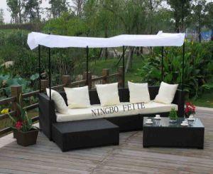 Outdoor Wicker Sofa (CNS-S1020)