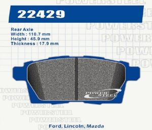 Brake Pads for Ford, Lincoln, Mazda D1259 pictures & photos