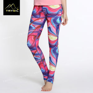 Sublimation Foot Pants Yoga Foot Leggings pictures & photos
