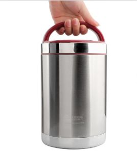 304 Double Layer Stainless Steel Vacuum Lunchbox (WE-0102)