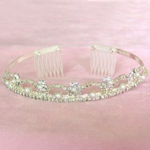 Fashion Jewelry Tiara Crown Wedding Hair Jewelrys (XPK-HK-HOO3)