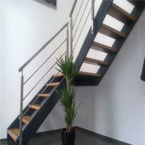 Outdoor Steel Flat Bar Stair Handrail Design pictures & photos