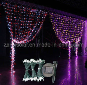 Solar Curtain String Lights : China Solar Holiday String Lights - Curtain Light (ZY-305) - China Solar Light, Solar String Light