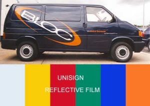 Selfadhesive Reflective Film - Advertising Grade pictures & photos