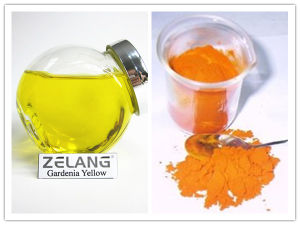 Halal Color Pigment Gardenia Yellow Price High Quality pictures & photos