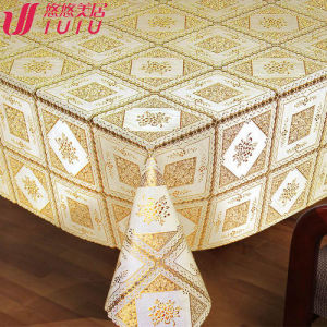 PVC Lace Table cloth