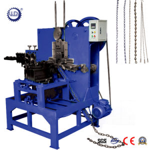 Automatic Mechanical Metal Double Hook Chain Making Machine pictures & photos