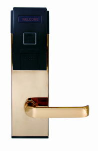 Hotel RFID Card Lock with Rose Golden/ Mirror Surface (EL216BC-MS/RG)