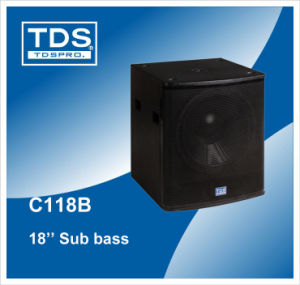 18inch Subwoofer Speaker pictures & photos