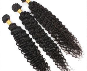6A Grade 100% Human Hair Virgin Brazilian Deep Hair Weave pictures & photos