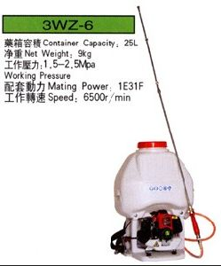 Knapsack Power Sprayer 3wz-6, Mist Duster pictures & photos