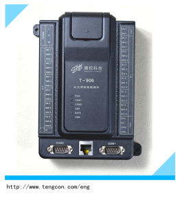 12PT100 Input PLC Controller T-906 Modbus RTU/TCP Programming Logic Controller pictures & photos