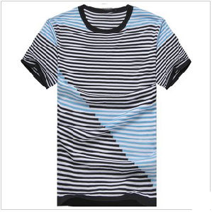 Yarn Dyed Stripe T-Shirt