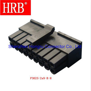 18 Poles Hrb Wire to Wire Connector of 3.0 Pitch pictures & photos