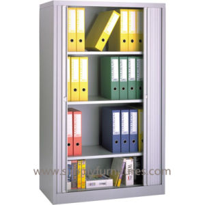 Lockable Steel Tambour Door Cabinet pictures & photos