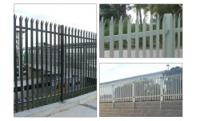 Palisade Fencing (Galvanized or PVC Coated) S0111 pictures & photos