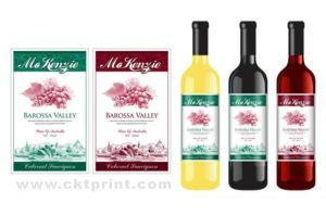 Colorful Wine Packaging Sticker Labels (CKT-LA-414)