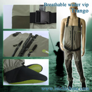 Fly Fishing Waterproof Breathable Zip Waders pictures & photos