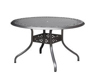 Aluminum Round Dining Table & Garden Table & Outdoor Table (DT130AA02 / DT120AA04 / DT100AA05)