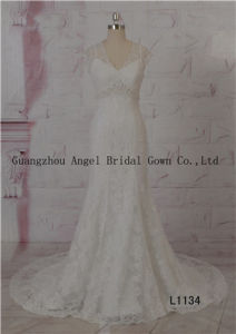 Custom Made Stunning Beading Sweetheart Strapless Wedding Dress pictures & photos