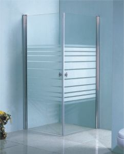 Classic White Shower Screen CE Approved (SW-8350)