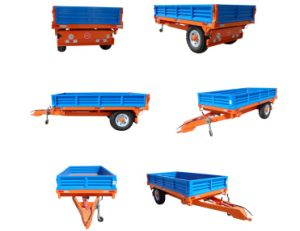 Euro Type Tipping Trailer 7cx-3t